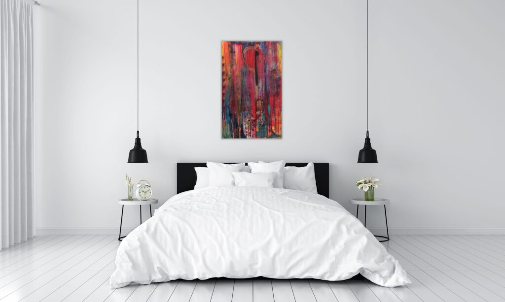 Contemporary painting for minimalist interiors
