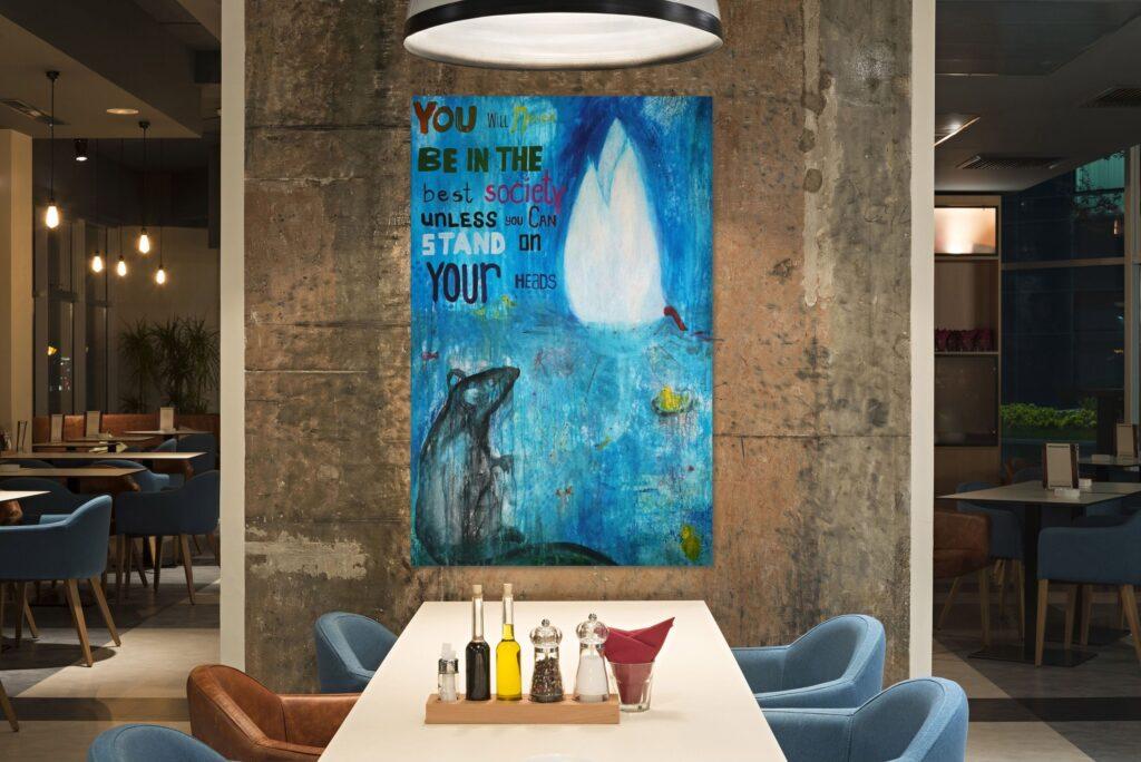 Art for restaurants
