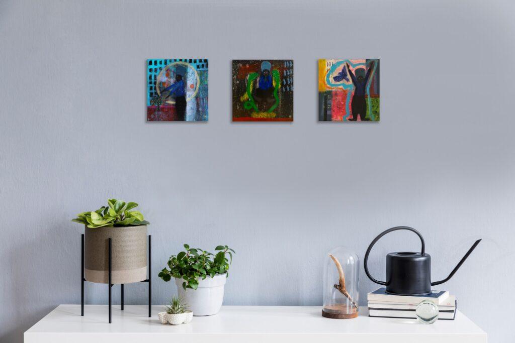 Interior design artwork