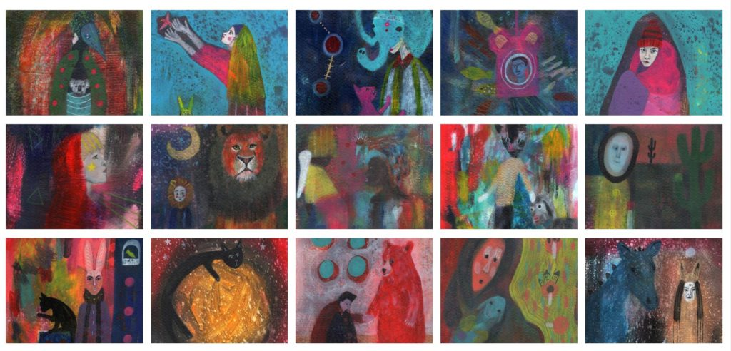 Mystery Art Sale Art Challenge