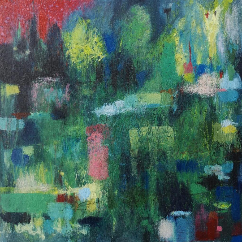landscape painting, abstract landscape, contemporary landscape