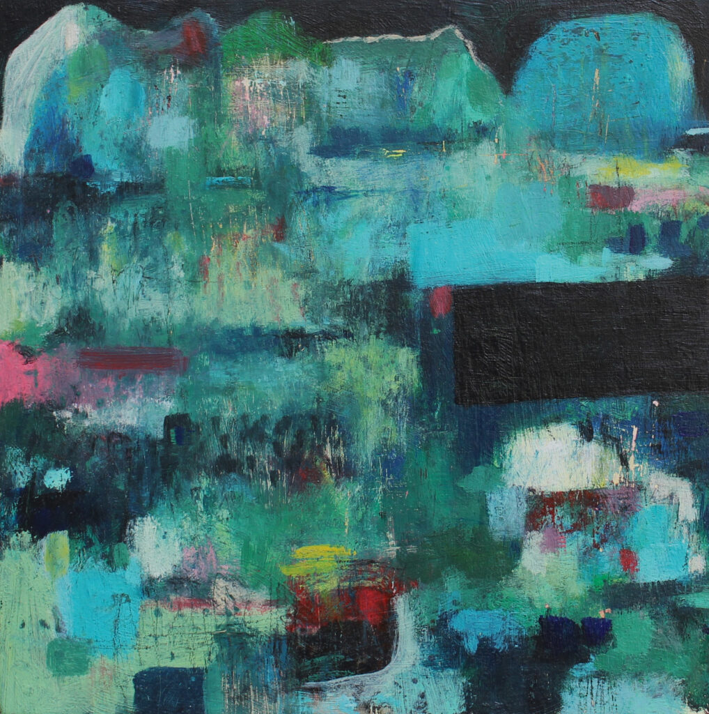 landscape painting, abstract landscape, contemporary painting, art for sale