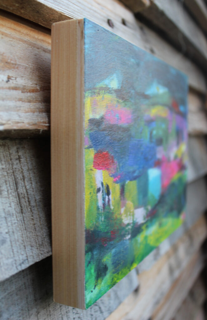 Wooden painting panels