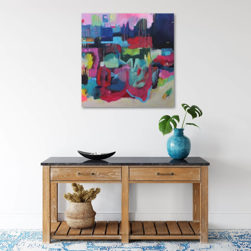 Travel inspired paintings