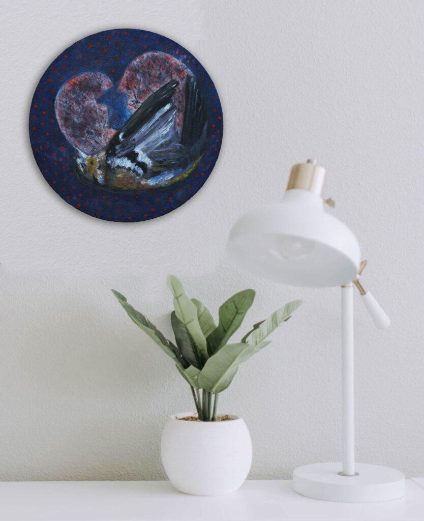 Round paintings