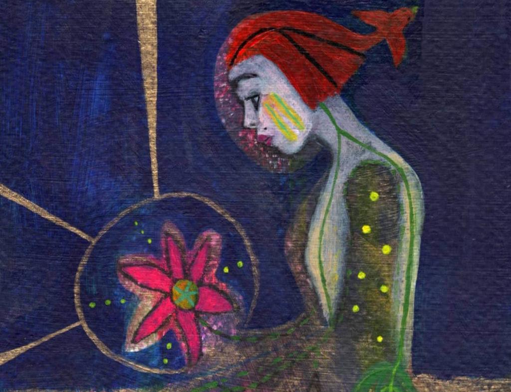 mother earth art spiritual art