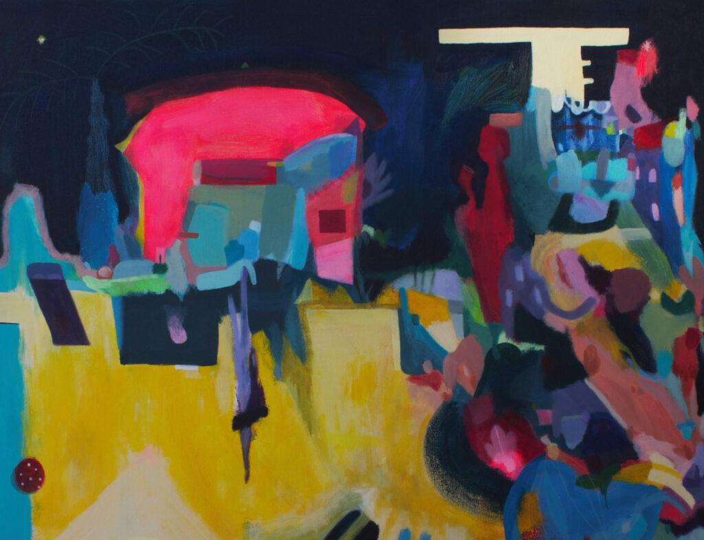 Swimming paintings
