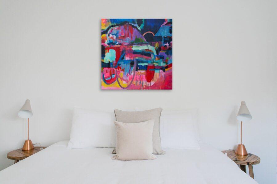 Artwork for white rooms