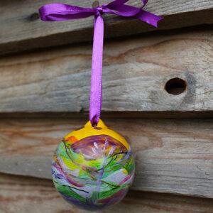 Handmade baubles