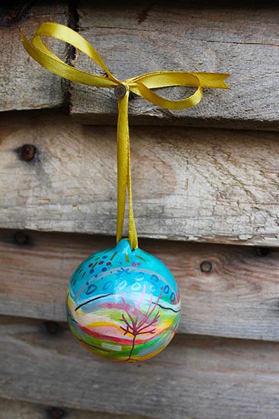Fine art ornaments