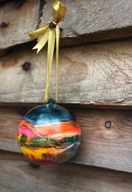 Fine art ornament