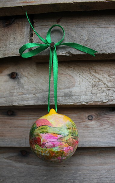 Hanging ornament present
